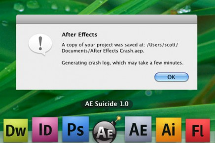 AE Suicide:After Effects Crash Recovery