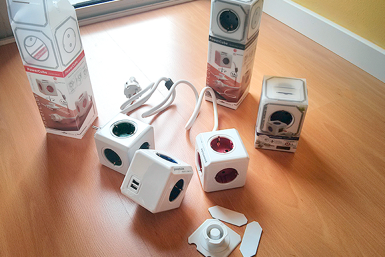 Allocacoc PowerCube Family