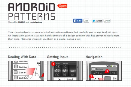 Android Patterns – Patrones de diseño para Android