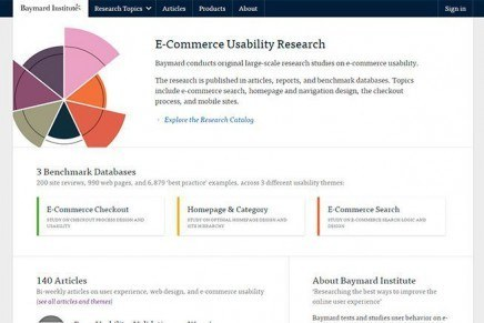 Baymard Institute, E-Commerce Usability Research