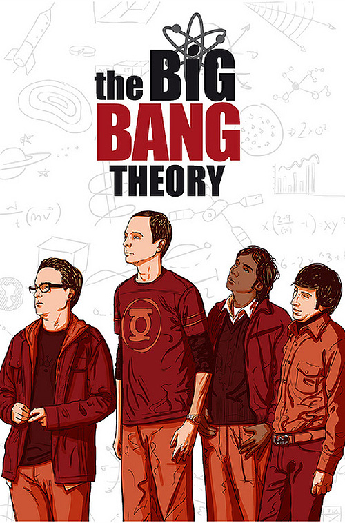 Big Bang Theory por Drawing Machine