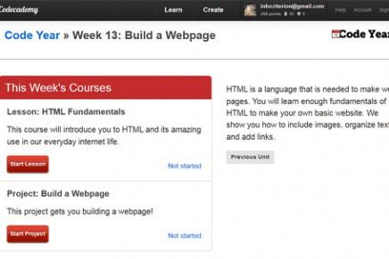 Codeacademy: fundamentos HTML y CSS