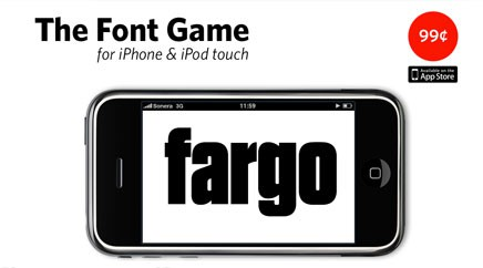 The Font Game for iPhone