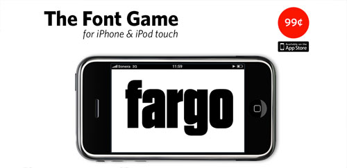 Font Game for iPhone