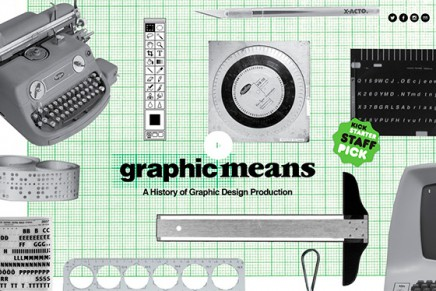Graphic Means, a History of Graphic Design Production