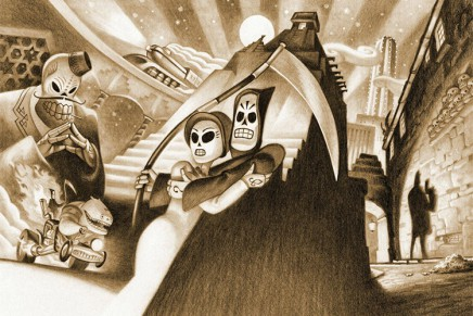 The Art of Grim Fandango remastered