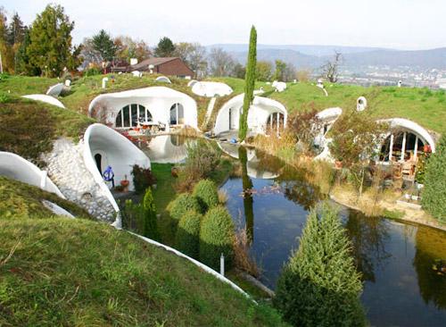 Hidden Swiss estate by Vetsch Architektur
