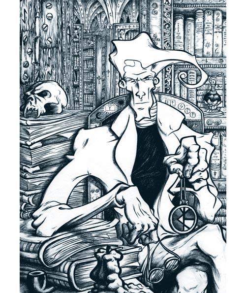 ilustracion entintada