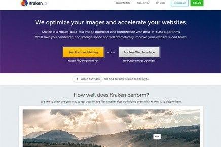 Kraken.io, lo mejorcito que he encontrado para optimizar las imágenes en WordPress
