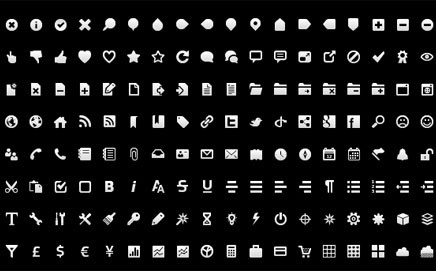 Top 10 Beautiful Minimalistic Icon sets