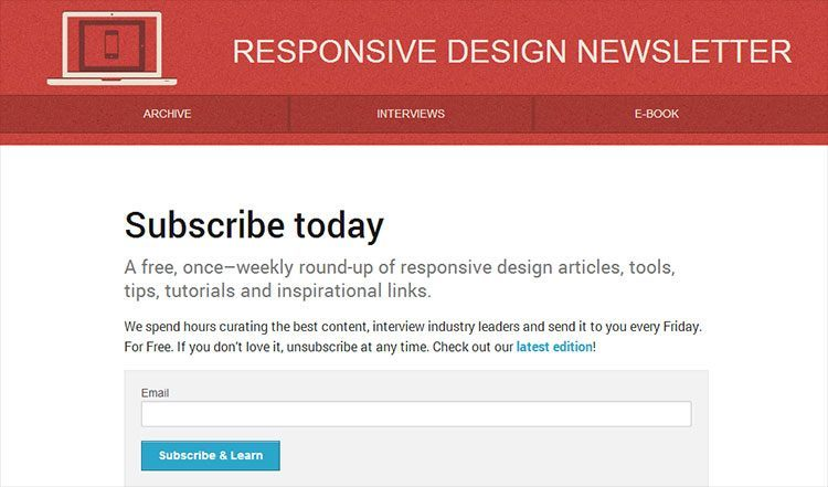 responsive-design-newsletter