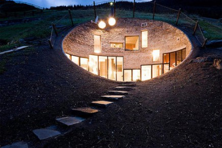 Coolest underground homes