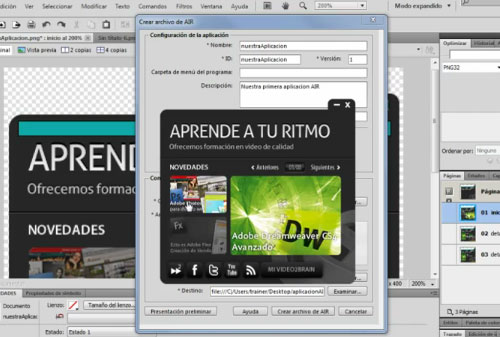 Workshop Adobe Fireworks
